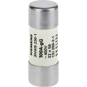 Zylindersicherung GG (NFC) ohne Anzeiger Gr.22x58mm 500V 80A