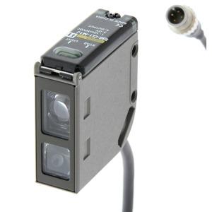 Optischer Sensor gerichtet 40 bis 200mm DC 3-adrig NPN/PNP M12 Stecker