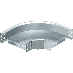 Bogen 90° horizontal mit Winkelverbinder 60x300 St FS