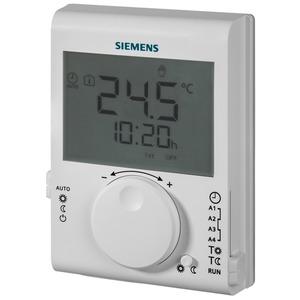 Raumtemperaturregler mit Tagesschaltuhr und grosser LCD-Anzeige
