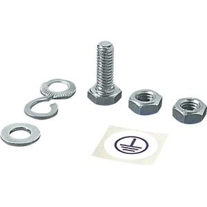 Befestigungsmaterial für Systemlochung mit Erdungsbänder M8