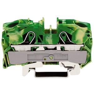 2-Leiter-Schutzleiterklemme PE-Einspeiseklemme 0,5 - 16 mm² grün-gelb