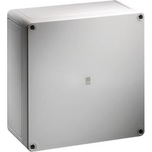 Polycarbonat-Gehäuse PK grauer Deckel BHT 94 x 94 x 81 mm