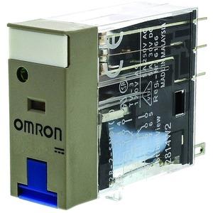 Steckrelais mit mechanischer und LED Stellungsanzeige Prüftaste