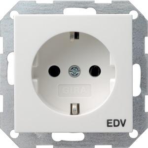 SCHUKO-Steckdose EDV für System 55 reinweiß