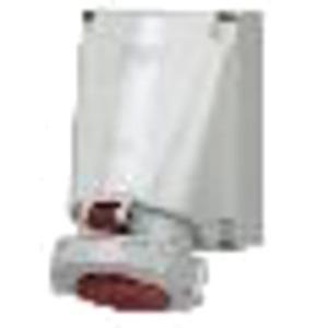 CEE Wandsteckdose 125A 4-polig 400V / 6h IP67