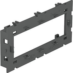 Montageträger für Modul 45 offene Ausführung 150x76x51 PA eisengrau
