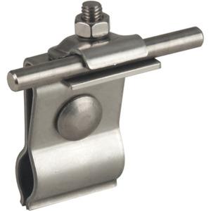 Dachleitungshalter NIRO für Metalldächer f. Rd. 6-10 mm
