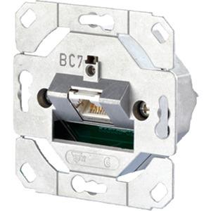 Kommunikationsanschlussdose E-DAT C6 8(8) UP Kat6 1-fach