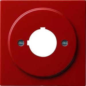Abdeckung mit Tragring Geräte mit 22,5 mm für S-Color rot