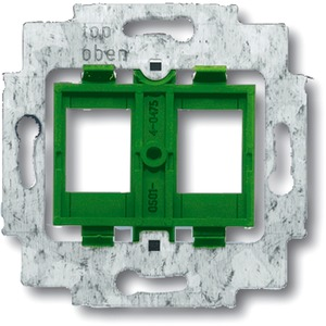 Modular Jack Tragring mit Sockel grün