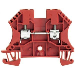 Durchgangs-Reihenklemme mit Schraubanschluss WDU 4 RT 4 mm²