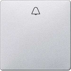I-System aluminium-metallic Wippe mit Symbol Glocke