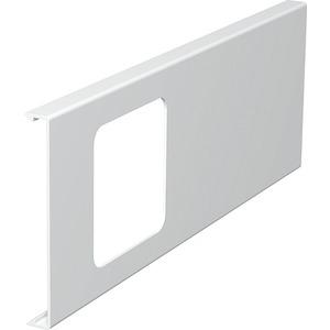 Oberteil für Geräteeinbau 1fach 110x300mm PVC reinweiß RAL 9010
