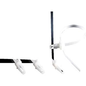 Kabelbinder für Schnellmontage System Pack mit 100 Stück