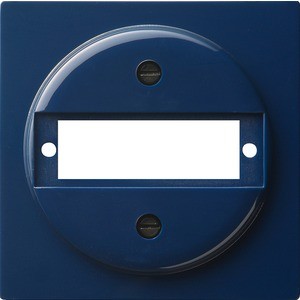 Abdeckung mit Tragring D-Sub für S-Color blau