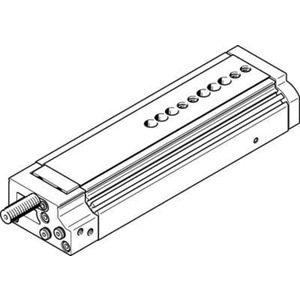Mini-Schlitten Kugel-Käfig-Führung Baugr. 12 mm / Hub 100 mm P1-Dämpf.