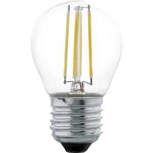 LED Globelampe E27 G45 4W 2700K klar Filament