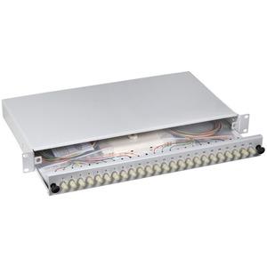 Spleißbox 12 ST / ST 62,5 / 125µ n a. Pigtails / Kupplungen