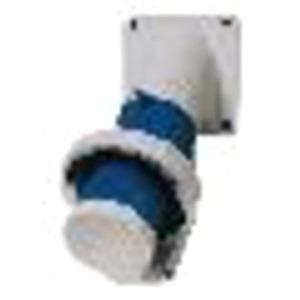 CEE-Anbaugerätestecker 32A 5p 400V 6h IP67 mit Klappdeckel