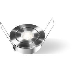 LED-Wand-/Deckeneinbaustrahler 5000K 280lm 2,3W Aluminium