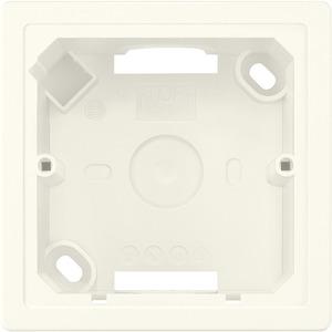Aufputz-Gehäuse 3-fach DELTA line/Style titanweiß