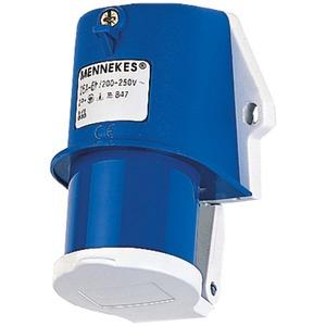 Wandstecker 16A 3-polig 6h 230V IP44