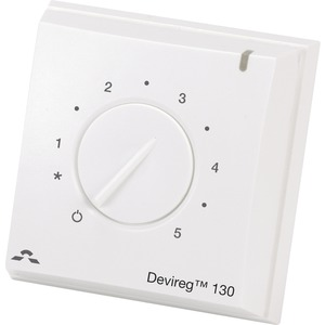 Thermostat inkl.Bodenfühler devireg 130 Devi 19112001
