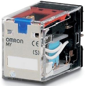 Schaltrelais 24 V DC 2W 10A LED + Schaltstellungsanzeige