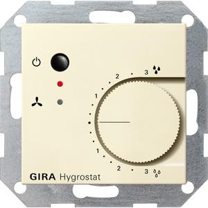 Elektronischer Hygrostat für System 55 cremeweiß