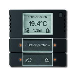 Raumtemperaturregler für KNX Unterputz Sensoren future linear