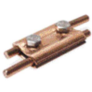 Parallelverbinder mit 2 Schrauben 8-10mm Kupfer