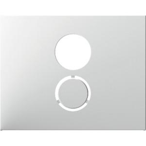 Zentralstück für Lautsprecher-Steckdose K.1 polarweiß glänzend