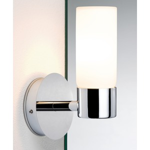 WallCeiling Eleon WL IP44 max. 33W G9 Chrom/Satin 230V Metall/Glas