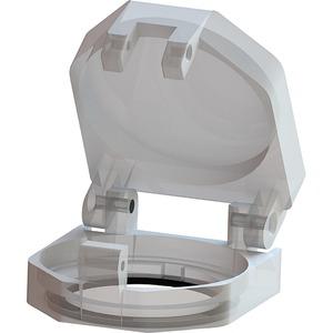 Zub./Ersatzteil für Kunststoff-/MetallproG.rund 22mm:Schutzkappe plom