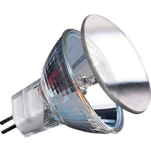 Niedervolthalogen Reflektorlampe Kaltlicht 10 Watt GU4 Silber (2 STK)
