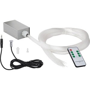 Lichtfasersystem SkyLight 100 RGB Multicolor silber 1x3W LED