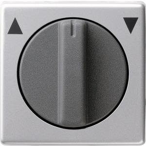 Abdeckung Knebel für Jalousieschalter für E22 Aluminium