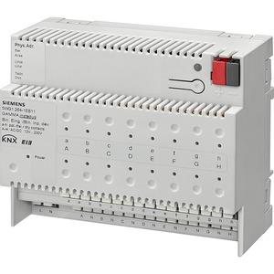 KNX Binäreingabegerät für potenialfreie Kontakte und 12-230V AC/DC 2x8-fach REG