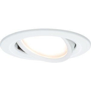 Einbauleuchte Nova rund schwenkbar 1x6,5W COIN LED 2700K Weiß matt