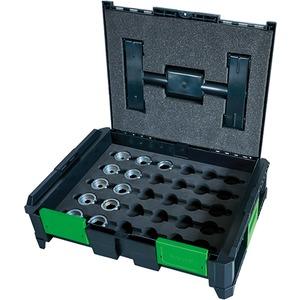 Werkzeugkoffer SysCon Set mit DIN Einsätzen 11 teiliig