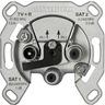 Verteilerdose IEC-Stecker 2-Loch