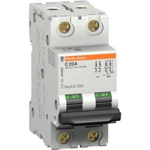 Leitungsschutzschalter C60N 2P 4A D 10KA
