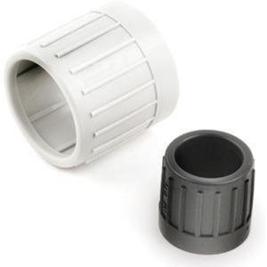 Dietzel Endtülle schwarz (RAL9005) zum Kabelschutz an Rohrkanten 32