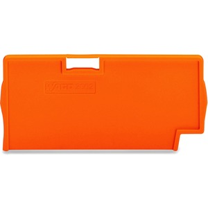 Trennwand 2 mm dick überstehend orange