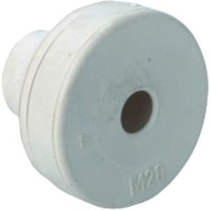 Kabeleinführungstülle M12 hellgrau Quickseal
