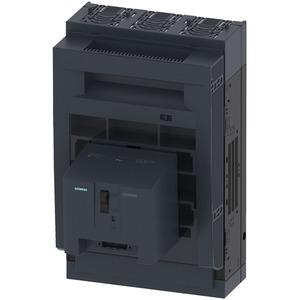 Sicherungslasttrennschalter 3pol. NH1 250A Montageplattenaufbau Abdeck