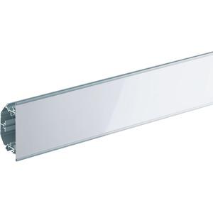 Designeckkanal L=2500mm weiss hochglanz