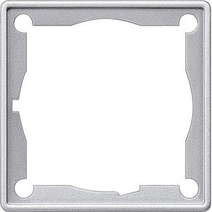 Zwischenrahmen Delta Vita alu/met für Zentralplatte 51x51mm