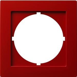 Adapterrahmen 50x50 rund für S-Color rot